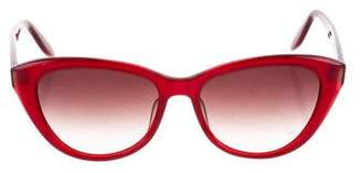 Barton Perreira Resin Cat-Eye Sunglasses