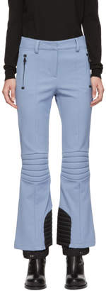 Moncler Blue Padded Ski Lounge Pants