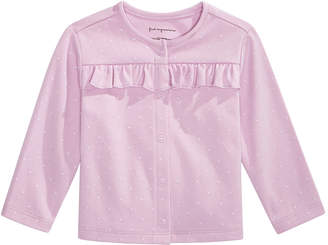 First Impressions Baby Girl Pindot Cardigan