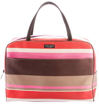Kate SpadeKate Spade New York Striped Canvas Handle Bag