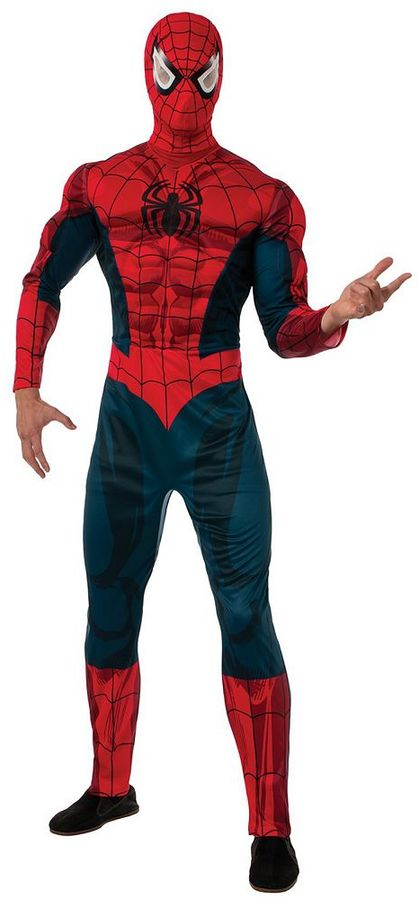 Adult Spider-Man Deluxe One-Size Costume