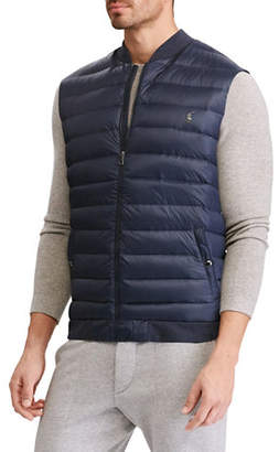 Polo Ralph Lauren Big and Tall Down-Panel Double-Knit Vest