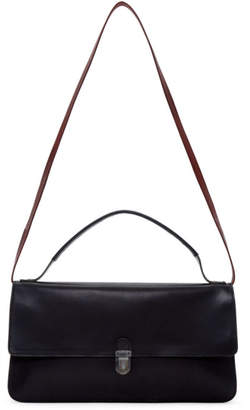 Cherevichkiotvichki Black Small Triple Prism Bag