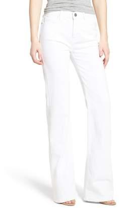 Current\u002FElliott The Jarvis Flare Jeans (Sugar)