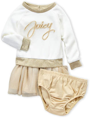 Juicy Couture Infant Girls) Two-Piece Pullover Dress & Bloomers Set