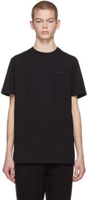 Neil Barrett Black and White Thunderbolt Back T-Shirt