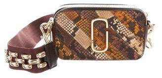 Marc Jacobs Patchwork Snake Snapshot Small Camera Bag w/ Tags