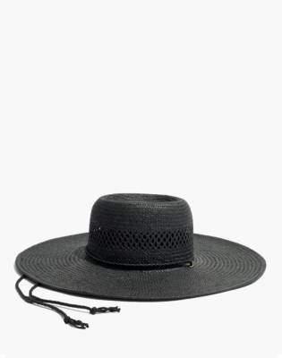 Madewell Stampede-Strap Straw Hat