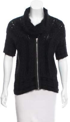 Chanel Angora-Blend Sweater