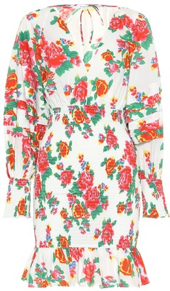 Rhode Resort Anya floral cotton minidress