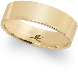 Macy's 6MM Wedding Band in 18k Gold