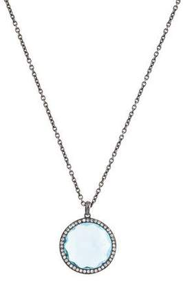 Ippolita Topaz & Diamond Pendant Necklace