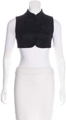 Alexander Wang Wool Button-Up Vest