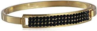 Chamak by Priya Kakkar Chic Gold Bejeweled with Swarovski Element Crystals Identification Bracelet