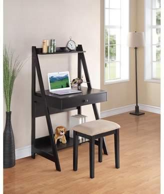 Andover Mills Magnolia Ladder Desk and Stool Set
