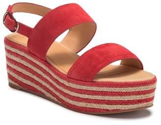 Joie Galica Woven Platform Wedge Sandal