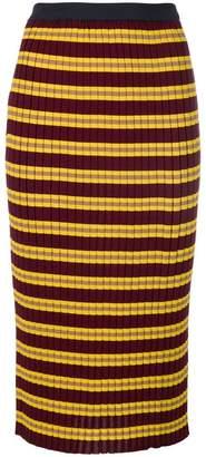 Marni knitted rib pencil skirt