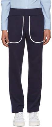 Daniel W. Fletcher Navy Side Stripe Lounge Pants