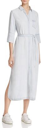 DL1961 Fire Island Chambray Shirt Dress $198 thestylecure.com