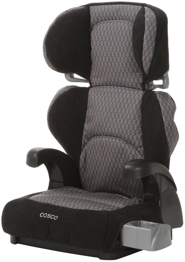 Cosco Cosco Pronto Booster Car Seat - Linked Black
