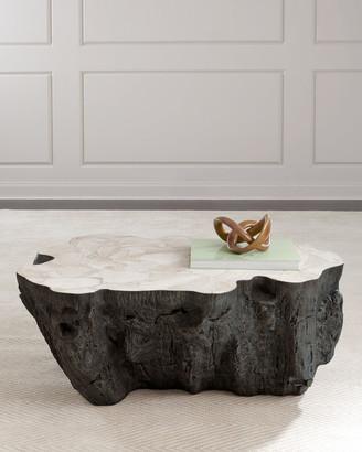 ... Fossil Palecek Ursula Coffee Table