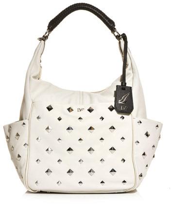 Diane von Furstenberg Franco studded hobo bag