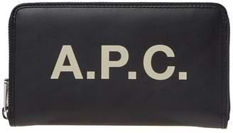 A.P.C. Morgan Logo Portfolio Wallet
