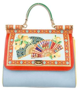 Dolce & Gabbana Fan Foulard Medium Miss Sicily Bag