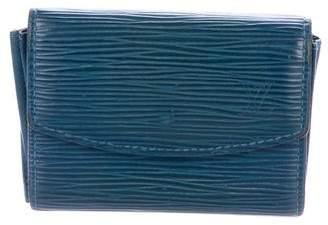 Louis Vuitton Epi Coin Wallet