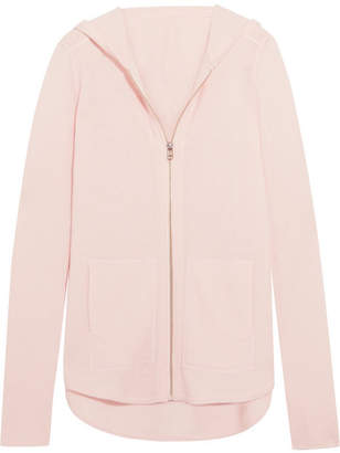 ATM Anthony Thomas Melillo Luxe Essentials Brushed-cashmere Hooded Top