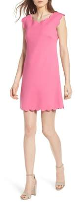 Bailey 44 Petal Scalloped A-Line Dress