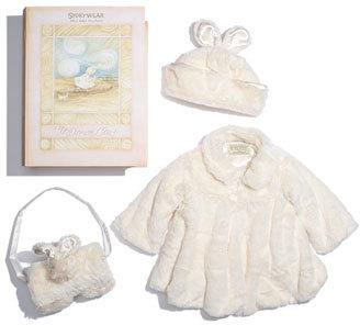 Bunnies by the Bay 'Glad Dreams Coat Storywear' Set (Baby)
