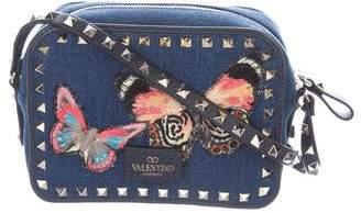 Valentino 2016 Butterfly Rockstud Camera Bag