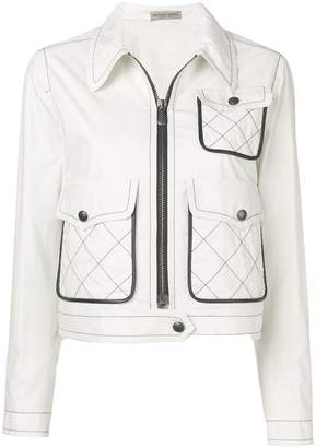 Bottega Veneta cropped technical jacket