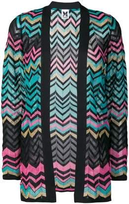 M Missoni zig-zag patterned cardigan