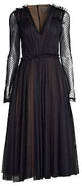 Jason Wu Collection Collection Women's Sheer Point D'Esprit Cocktail Dress