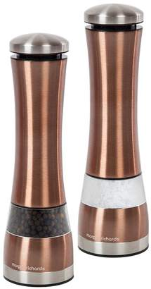 Morphy Richards Accents Electric Salt and Pepper Mills – Copper