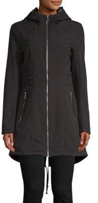 MICHAEL Michael Kors Faux Fur-Lined Hooded Jacket
