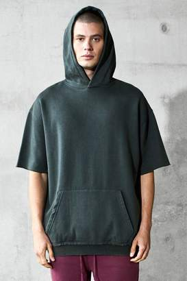 boohoo Oversized Short Sleeve Heavyweight Hoodie