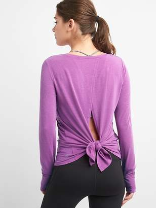 Gap GapFit Breathe Tie-Back T-Shirt
