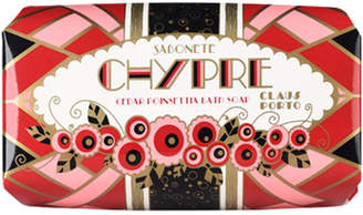 Claus Porto Chypre - Cedar Poinsettia Soap, 150g