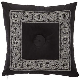 Sweet Dreams Bianca Velvet Boutique Button-Center Pillow
