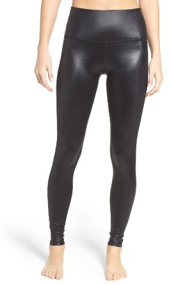 Women's Beyond Yoga Glossy High Waist Leggings $97 thestylecure.com