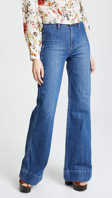 Alice + Olivia AO.LA by Gorgeous High Rise Jeans
