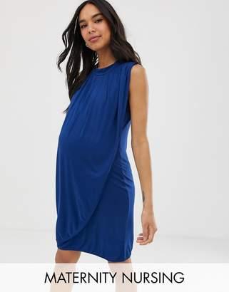5869fd1920e Mama Licious Mama.Licious Mamalicious nursing jersey mini dress