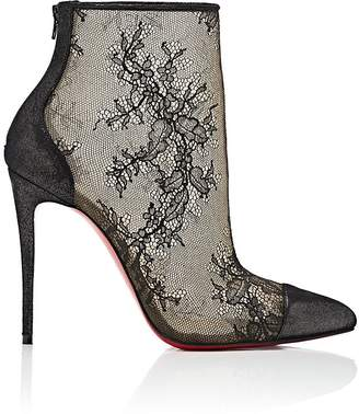 Christian Louboutin Women's Gipsybootie Lace Ankle Booties