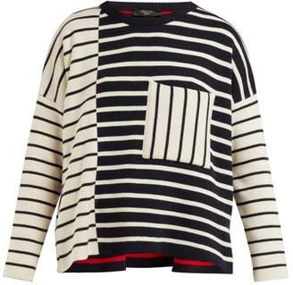 Max Mara Mario Sweater - Womens - Navy Multi