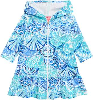 Lilly Pulitzer R) Cooke Cover-Up Dress