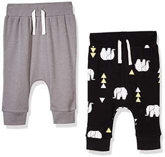 Silly Apples Baby Unisex Cotton Blend 2 Pack Pant (3M)