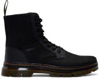 Dr. Martens Black Combs Boots